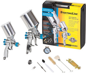 DEVILBISS 802342 +Starting Line Grav Spray Gun Kit, Price/KIT