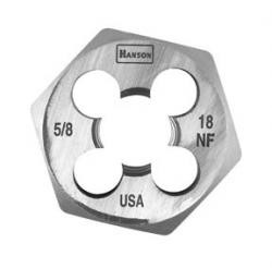 Hanson 6854 Hex Die 5/8-18 1-7/16, Price/EACH