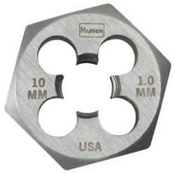 """Hanson 7005 1/2"""" - 14 Npt H.C.S. Hex Die Flat, Price/EACH"""