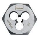 Hanson 9423 1/4-28 Nf Die-1 Hex Cd