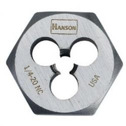 Hanson 9445 1/2-20 Nf Die-1 Hex-Cd, Price/EACH
