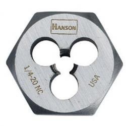 Hanson 9445 1/2-20 Nf Die-1 Hex-Cd, Price/EACH