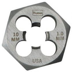 Hanson 9736 9mm-1.00mm Die 1 Hex-Cd, Price/EACH