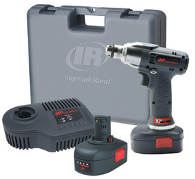 "Ingersoll Rand D040-KL2 1/4"" 7.2V Li-Ion Drill Kit, Price/EA"