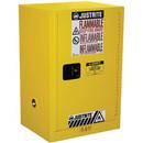 JUSTRITE 891200 Cab Man Yl Flam Safe Ex 12Gal