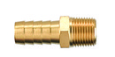 Legacy LMA1660-X Brass Male Hose Barb Fitting 3/8Id