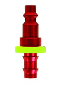 "Legacy A73640DHPO-X Red 1/4"" Body, 3/8"" Push Lock Barb, Price/EACH"