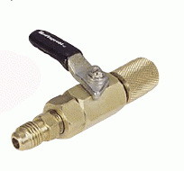 "Mastercool 90430 1/4"" X 1/4"" Manual Shut Off Valve, Price/EACH"