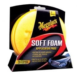 Meguiars X3070 Hi-Tech Foam Applicator Pads (2Pk), Price/PACKAGE
