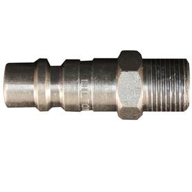 """MILTON 1859 G-Style 3/8"""" Male Plug, Price/EACH"""