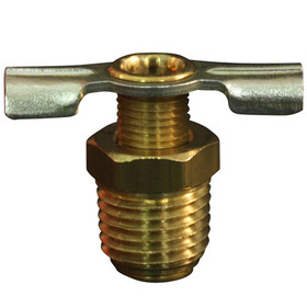 "MILTON 614-4 1/4"" Drain Cock - Single, Price/EACH"