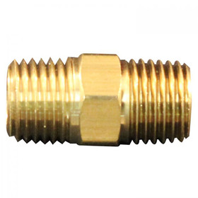 "MILTON 646 1/4"" Male Hex Nipple, Price/EACH"