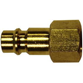 MILTON 761 Hi-Flo V-Style 1/4Fnpt Plug, Price/EACH