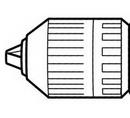 Makita MP193601-2 Keyless Chuck Set F/6019