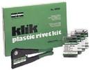 Marson 48001 Klik Plastic Rivet Kit