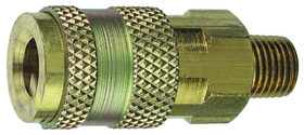 PLEWS 13-508 Universal Coupler - 1/4 Mnpt, Price/EACH