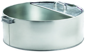 PLEWS 75-750 6-Gal Steel Drip Pan, Price/EACH