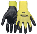 RINGER'S GLOVES 013-08 Nitrile 1/2 Dip Yellow S
