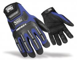 RINGER'S GLOVES 141-08 Split Fit Air Imp Glove Blue-Small, Price/EACH