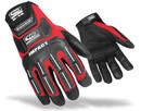 RINGER'S GLOVES 145-09 Split Fit Imp Glove-Red M T