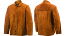 STEINER SB9215-L Lg Brown Leather Welding Jacket