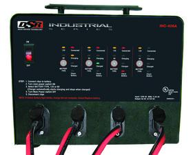 SCHUMACHER ELECTRIC INC-406A Digital 6Amp 12V 4Bank Charging Station, Price/EACH