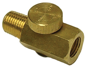 S & G TOOL AID 98025 Brass Air Regulator, Price/EACH