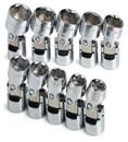 SK Hand Tool 3910 Set Skt 3/8Dr Flx 6Pt Mt 10Pc