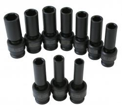 "Sunex International Metric 1/2""Dr 10Pc Deep Univ Set Unadv, Price/SET"