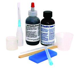 Urethane Supply 2503 Blk Plasticfix Rigid Repair Kit, Price/KIT
