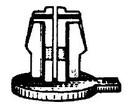 W & E Glass Guide Retainer 25/Bx