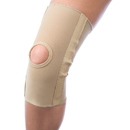 Body sport 765LRG Body Sport Slip On Knee Compression Sleeve With Open Patella And Stays, Large, Measure 6