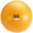 Body sport BULK65ABCM Body Sport Studio Series Fitness Ball (Exercise Ball), 65 Cm, Yellow, Slow Air Release, Bulk