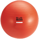 Body sport BULK75ABCM Body Sport Studio Series Fitness Ball (Exercise Ball), 75 Cm, Red, Slow Air Release, Bulk
