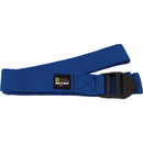 Body sport YSB6F 6 Foot Yoga Strap Blue Cotton Blend With Pvc Buckle