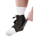 Cramer 760123 Active Ankle Power Lacer Ankle Brace, Black, XLarge, Mens 14-15, Womens 15-16