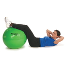 Hygenic 23010 Thera-Band Exercise Ball, Yellow, 45 Cm / 18