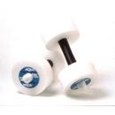 Excel Sports Science AP68 Aquajogger Aquafit Barbells, Soft Padded Grip, White