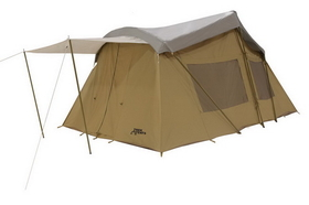 Trek Tents Three Room Cotton Cabin Tent - 10' x 16', Price/Each