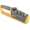 Smith's Sharpener S-50264 Adjustable Manual Knife Sharpener, Gray/Yellow