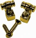 Mojotone Strat Roller String Guides Gold