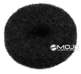 Mojotone Felt Strap Button Washers Black (1 Dozen)