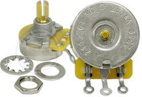 Mojotone CTS 250K Potentiometer Split Shaft