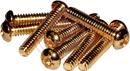 Pickup Mounting Screws Strat (6-32 X 5/8'' Gold)