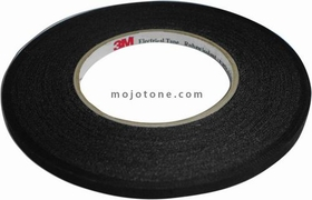 3M #11 Black Fiber Coil Tape (.260 x 72 yards)