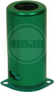 Fender Style Tube Shield For 9 Pin Socket Green