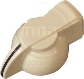 Mojotone Flat Topped Creme Chicken Head Knob