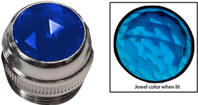 1/2'' Lens Assembly (Blue Jewel)
