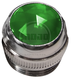 1/2'' Lens Assembly (Green Jewel)
