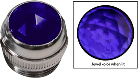 1/2'' Lens Assembly (Purple Jewel)